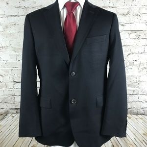 Hugo Boss Dark Blue Sport Coat / Jacket Size 40R